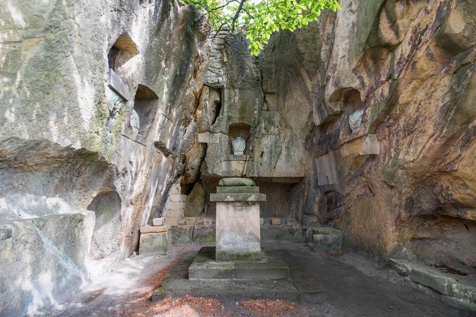Bohemian Paradise rock chapel