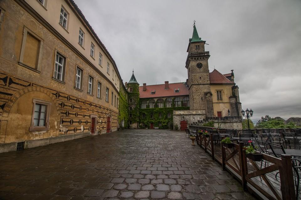 Castle hotel Hrubá Skála