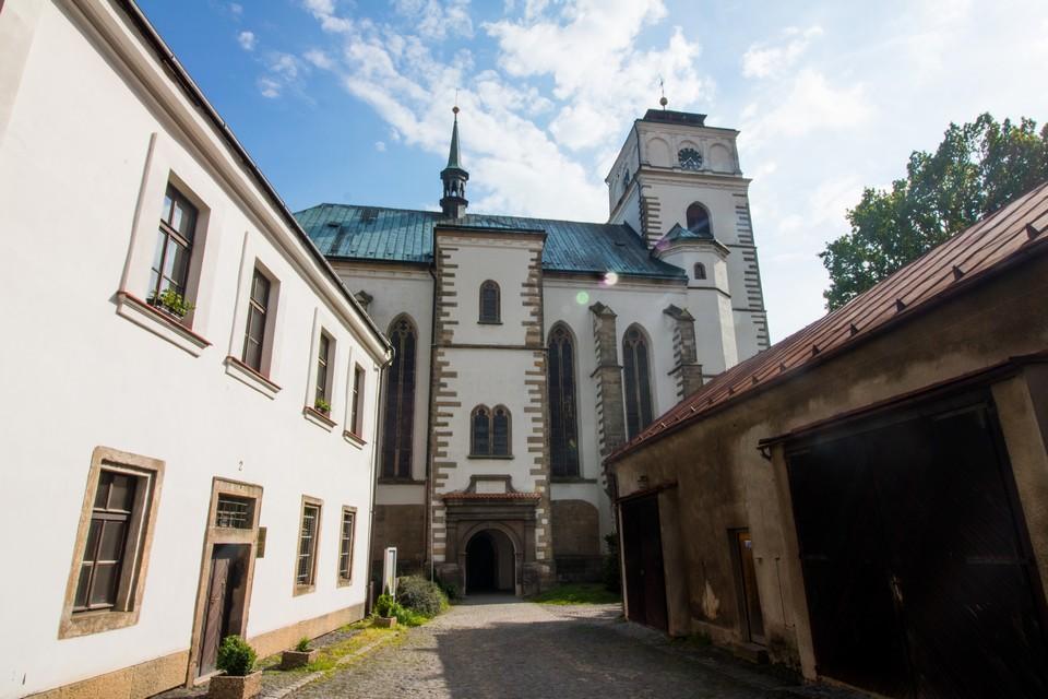 Church of st. Mary Magdalene in Sobotka