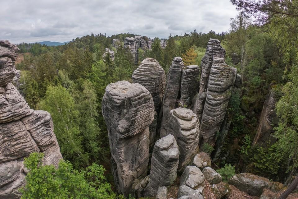 Hruboskalské skalní město rock town