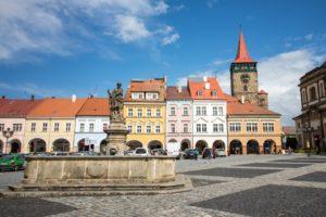 Jičín square czech fairy tail