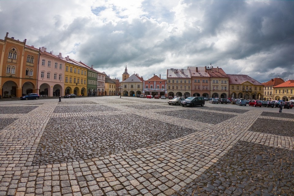 Jičín square how to get