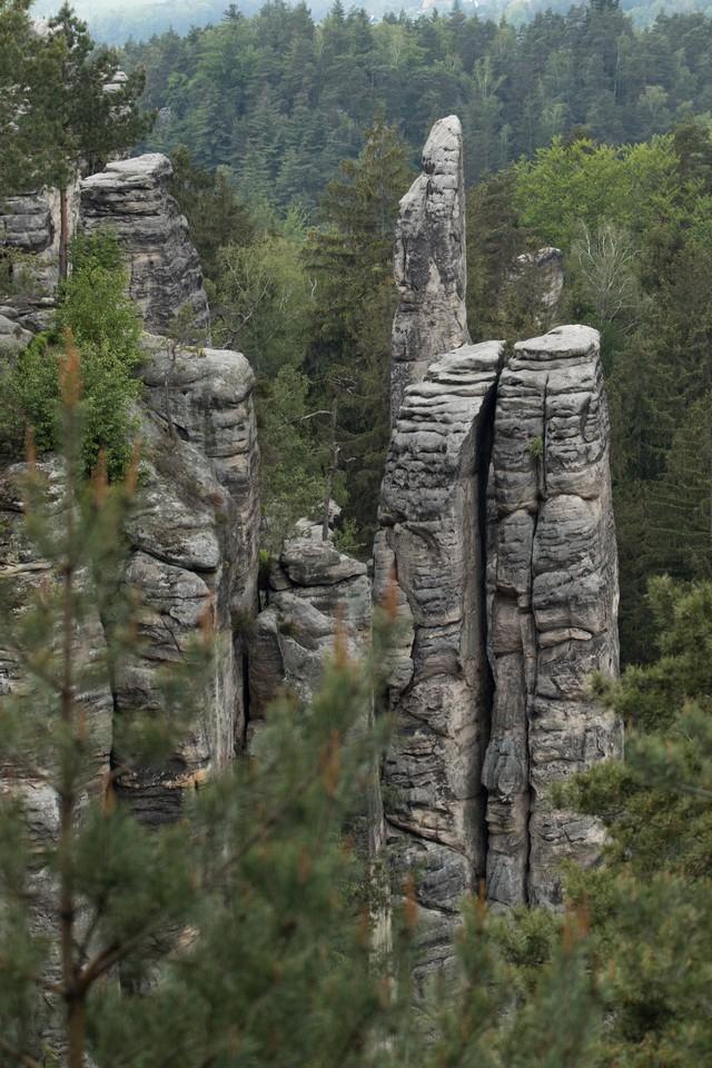 Prachovské skály Rocks Bohemian Paradise tour