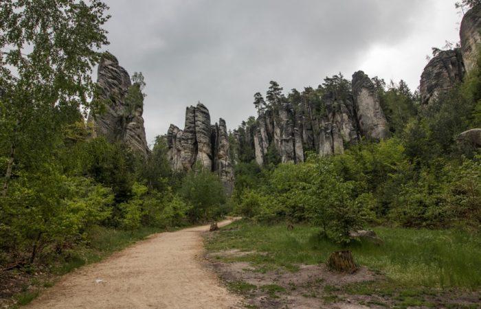Prachovské skály Rocks Bohemian Paradise