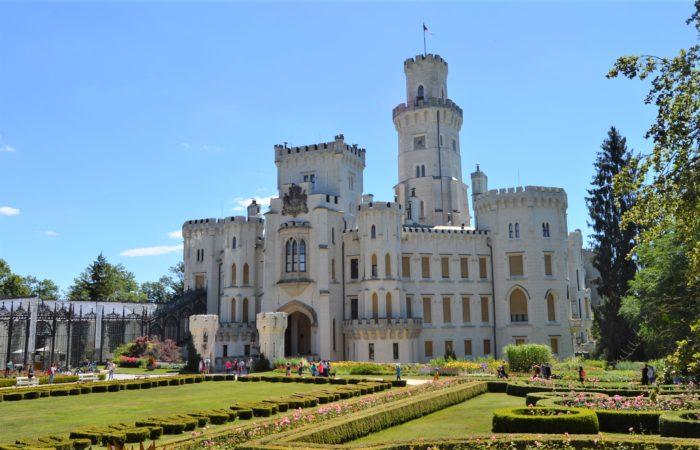 Castle Hluboká nad Vltavou